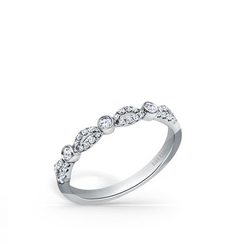 Romantic Twist Diamond Wedding Band