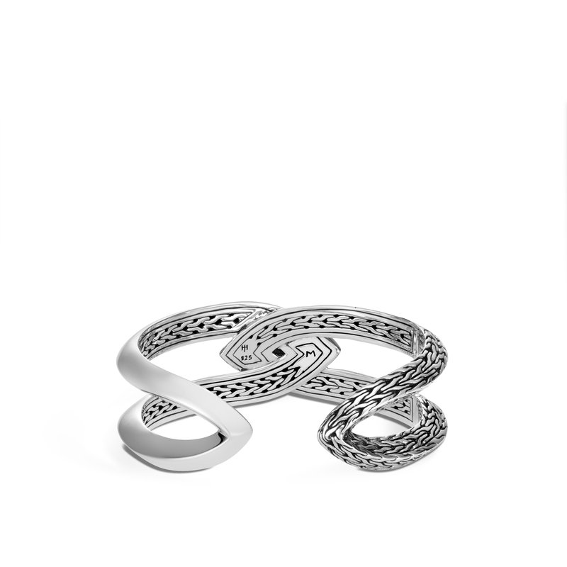 JOHN HARDY Classic Chain Knife Edge Cuff in Silver