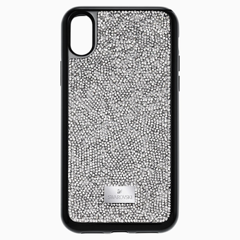 Glam Rock Smartphone Case with integrated Bumper, iPhone® X/XS, Gray
