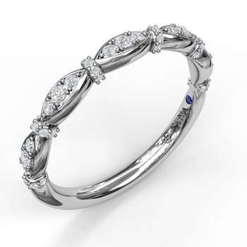 Prong Set Diamond Marquise Band