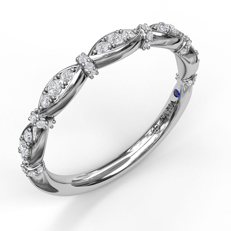 Fana Prong Set Diamond Marquise Band