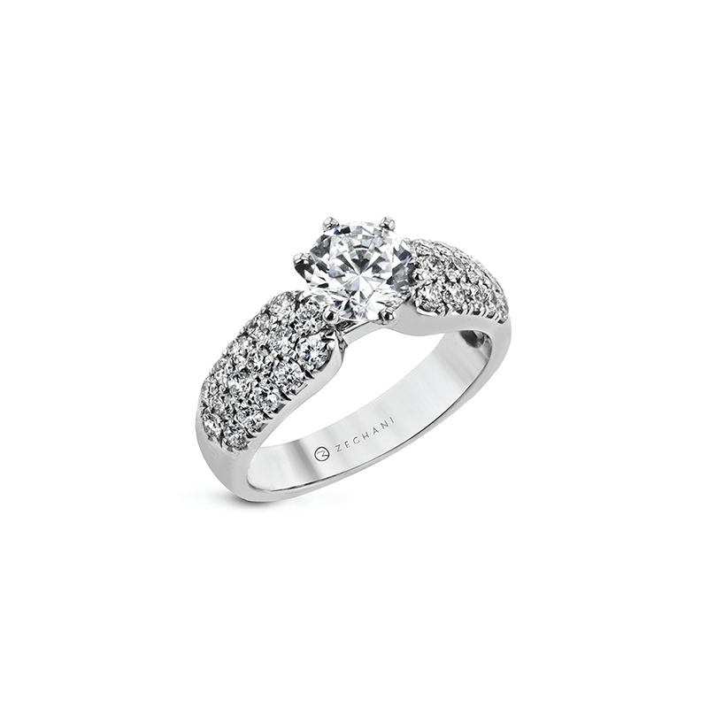 Zeghani ZR2105 ENGAGEMENT RING