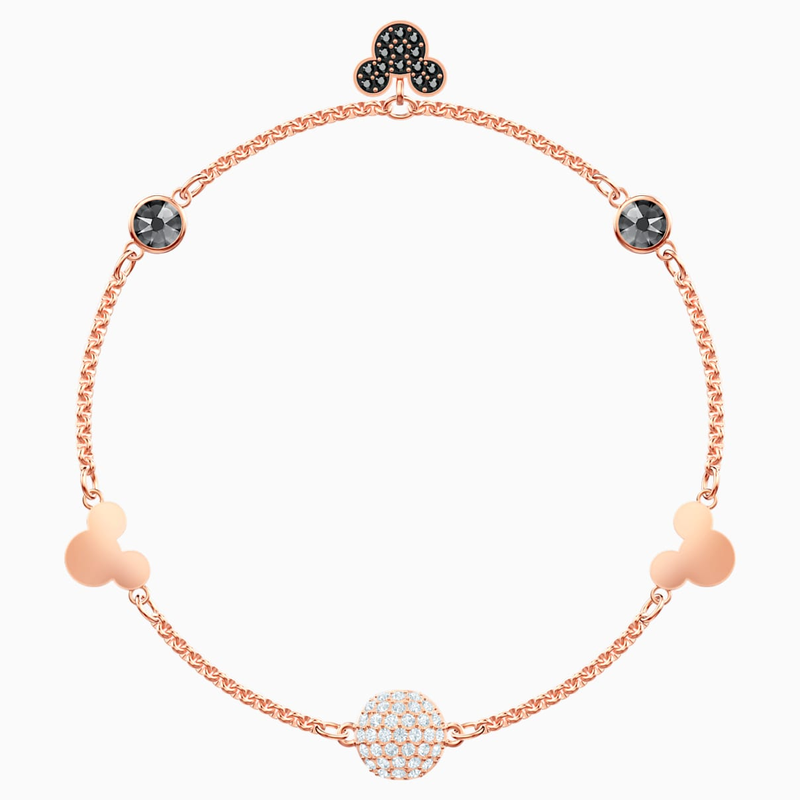 Swarovski Swarovski Remix Collection Mickey Strand, Multi-colored, Rose-gold tone plated