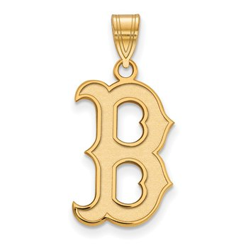 Gold Boston Red Sox MLB Pendant