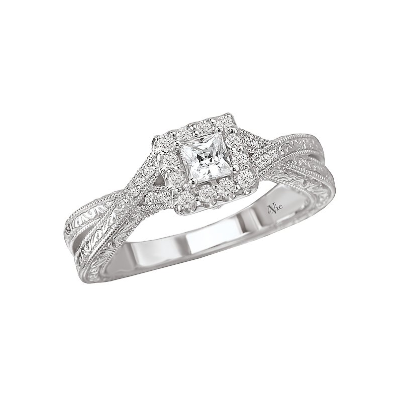 LaVie Halo Complete Diamond Ring