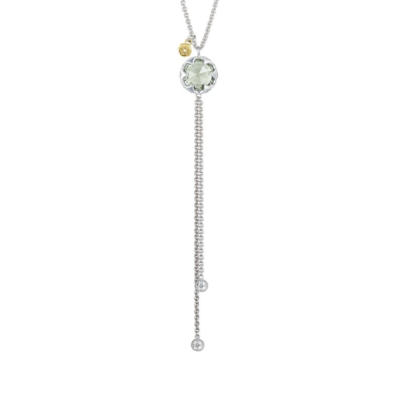 Tacori Fashion Lariat Necklace featuring Prasiolite