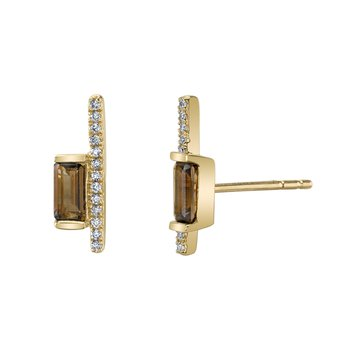 MARS 26842 Fashion Earrings, 0.08 Dia. 0.33 S Quartz.