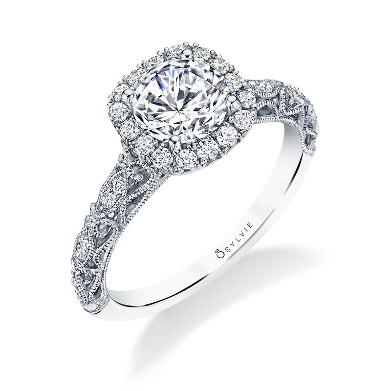 Sylvie Vintage Engagement Ring