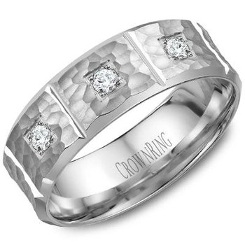 CrownRing Men's Wedding Band WB-7968