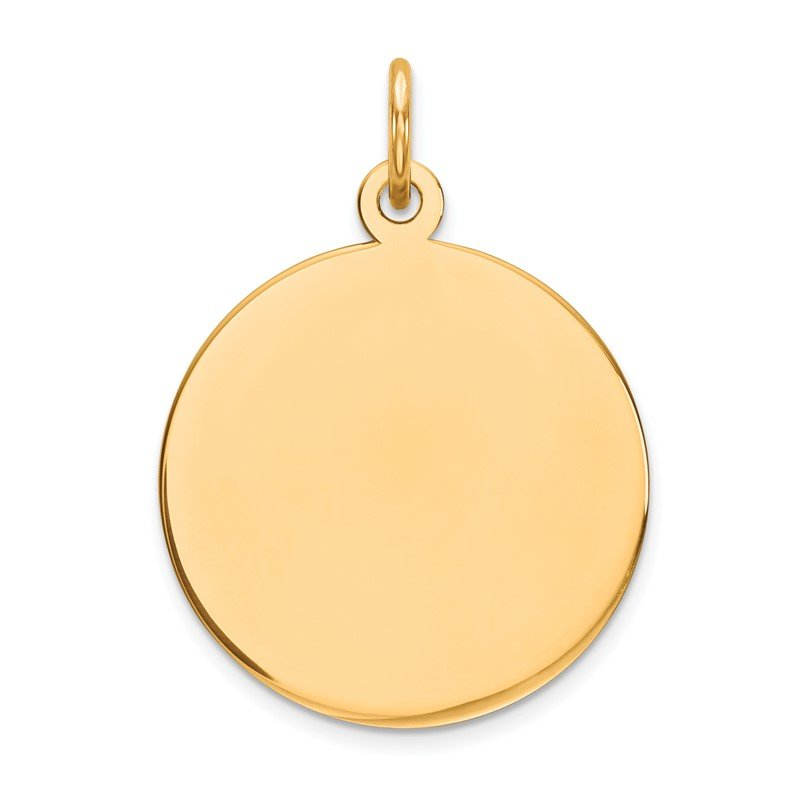 Lester Martin Online Collection 14K Round Disc Charm