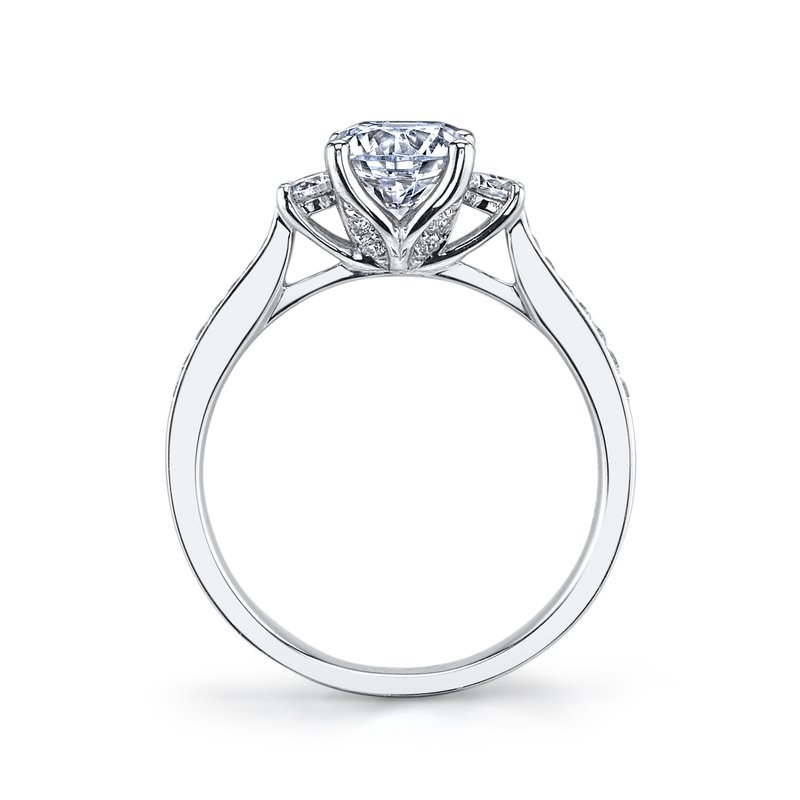 MARS Jewelry Diamond Engagement Ring 0.38 ct tw
