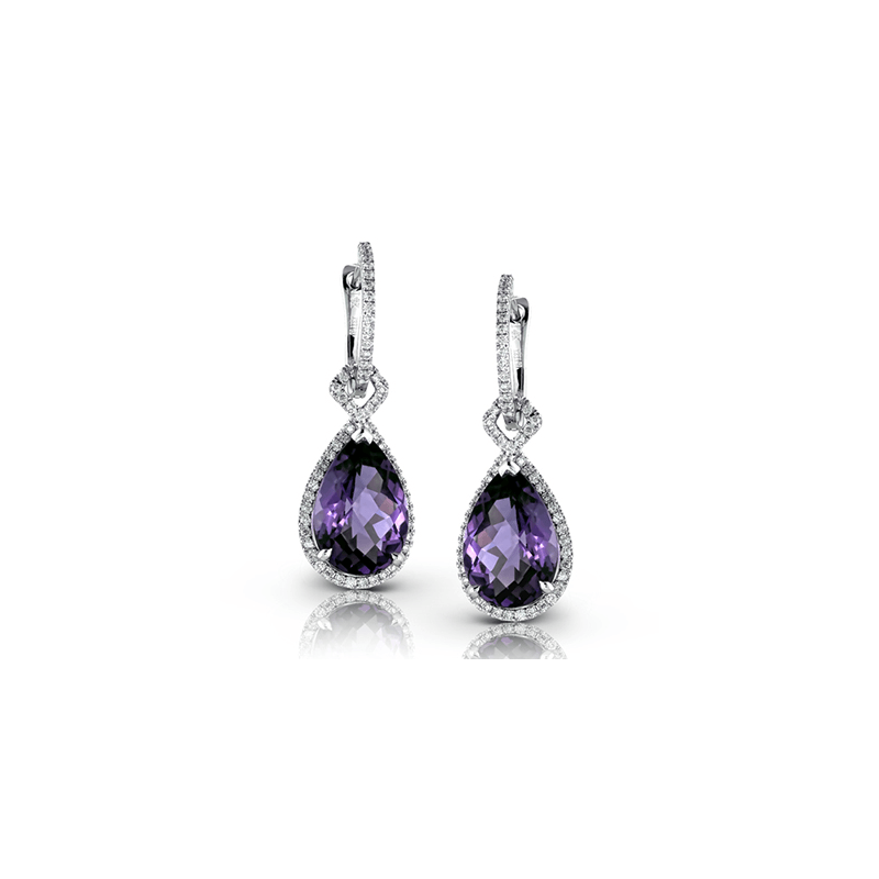 Zeghani ZE318 COLOR EARRING