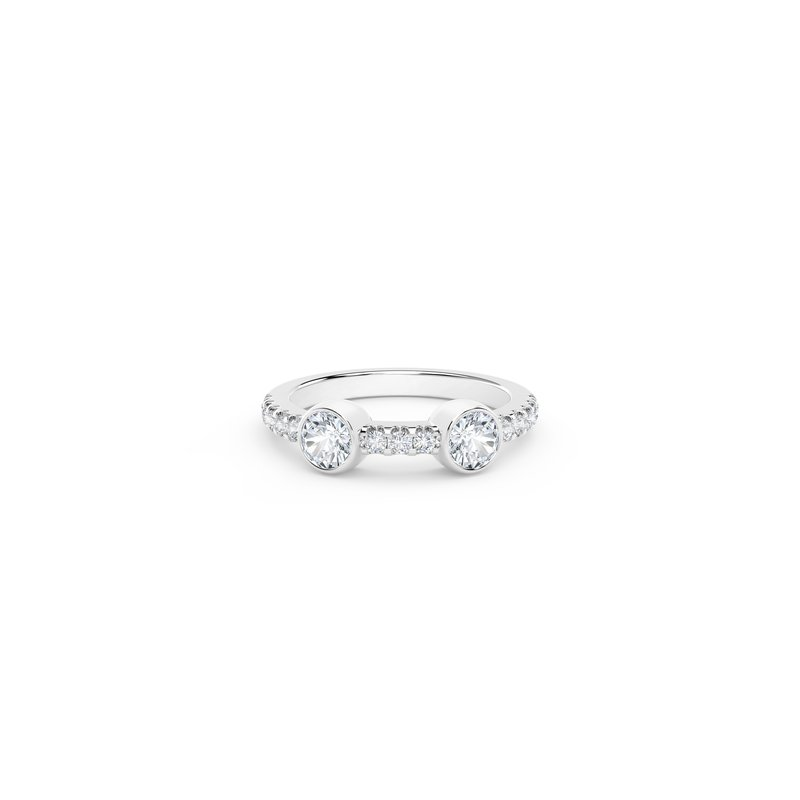 Forevermark Black Label The Forevermark Tribute™ Collection Two Stone Diamond Ring