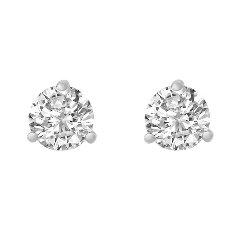 Simply Diamonds 14KW 1/2 CTW RD 97 FACET FOREVER BRIGHT STUD