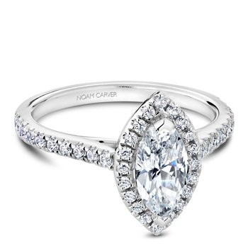 Noam Carver Fancy Engagement Ring R050-07A