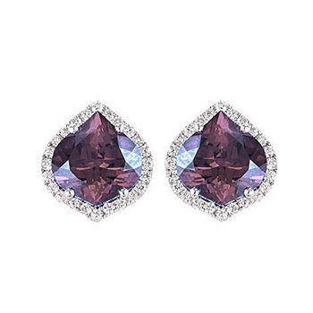 Alexandrite Earrings-CE3830WAL