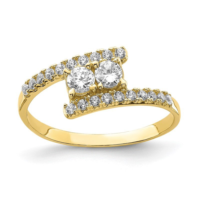 Quality Gold 10K CZ Fancy Ring