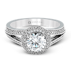 Zeghani ZR1170 ENGAGEMENT RING
