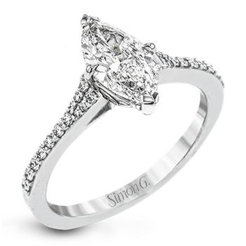 LR2507-MQ ENGAGEMENT RING