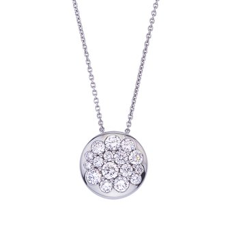 White Gold Diamond Tango Pendant