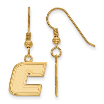 Gold-Plated Sterling Silver University of Tennessee at Chattanooga NCAA Earrings