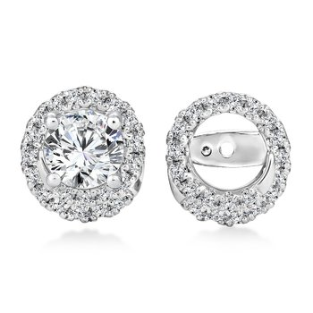 Diamond Earing Jacket ( .38 tw )