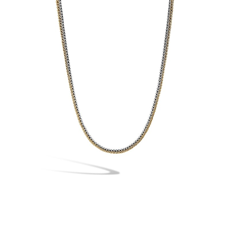 JOHN HARDY Classic Chain 5MM Reversible Necklace in Silver and 18K Gold