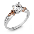 Simon G MR2646 ENGAGEMENT RING