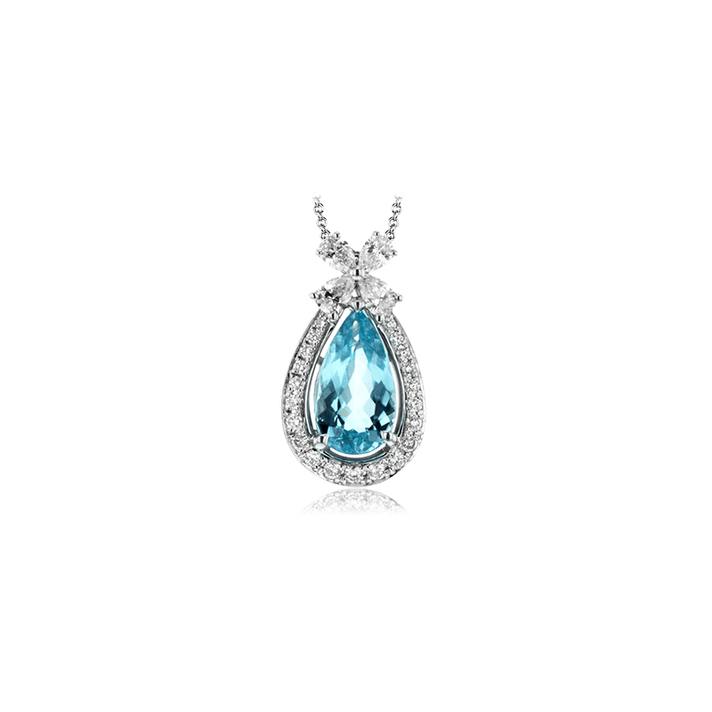 Simon G LP4062 COLOR PENDANT
