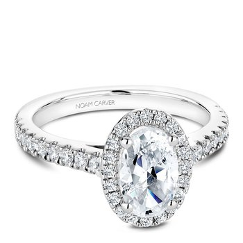 Noam Carver Fancy Engagement Ring B034-04A