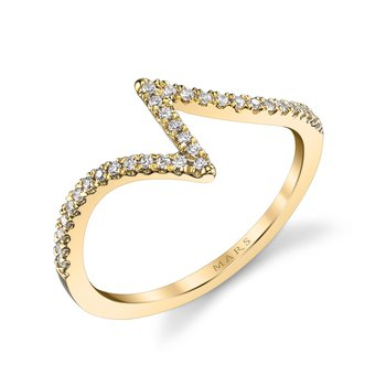 MARS 26619 Fashion Ring, 0.13 Ctw.