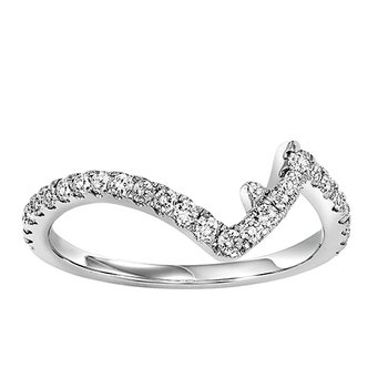 14K Diamond Matching Band 1/2 ctw matching to 2 ctw Ring
