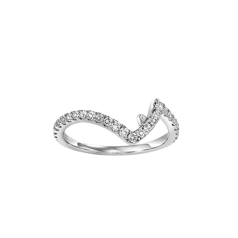 Twogether 14K Diamond Matching Band 1/2 ctw matching to 2 ctw Ring