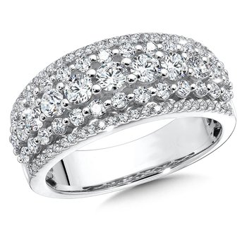 Diamond Ring in 14K White Gold (1/2 ct. tw.)