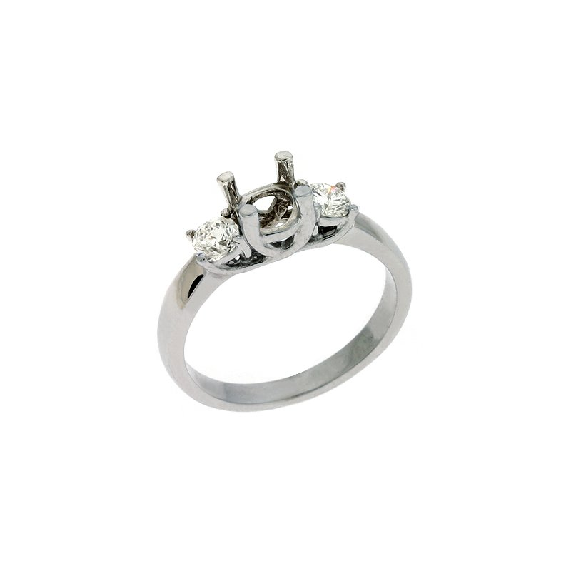 S. Kashi & Sons Bridal Three Stone Diamond Ring