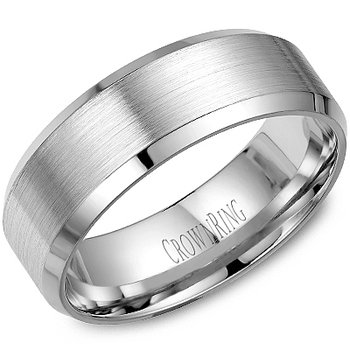 CrownRing Men's Wedding Band WB-7131