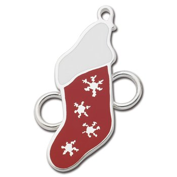 Sterling Silver Christmas Stocking