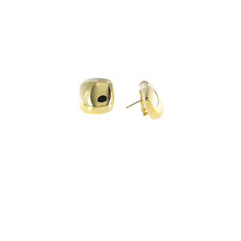 18KT GOLD SQUARE EARRINGS