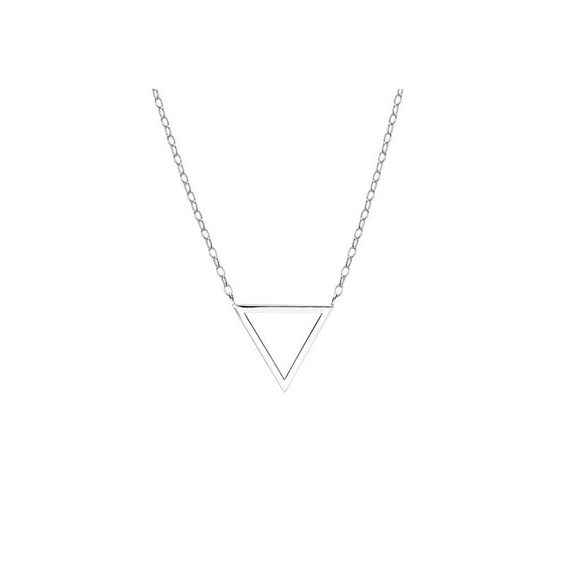 LARUS Jewelry Triangle Shaped Necklace