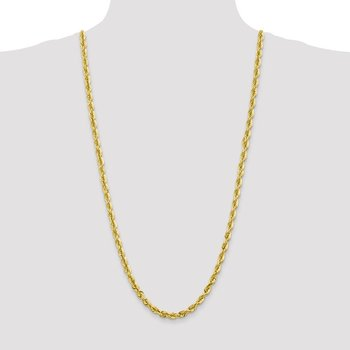 10k 5.5mm Diamond-cut Rope Chain
