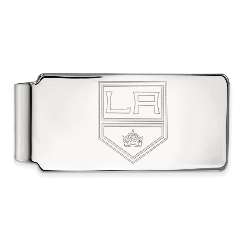NHL Sterling Silver Los Angeles Kings NHL Money Clip