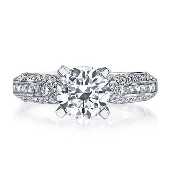 25235 Diamond Engagement Ring 0.64 ctw