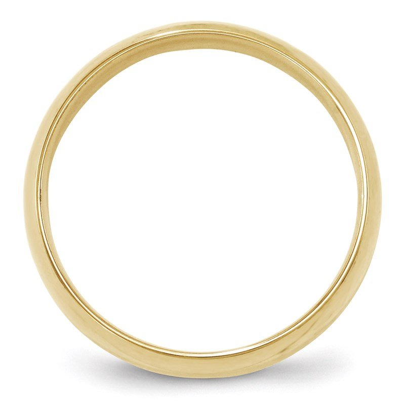 Quality Gold 10KY 6mm LTW Comfort Fit Band Size 10