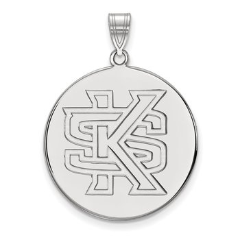 Sterling Silver Kennesaw State University NCAA Pendant