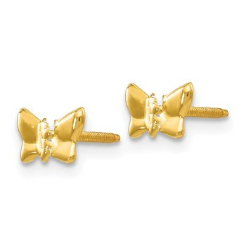14k Madi K Butterfly Post Earrings