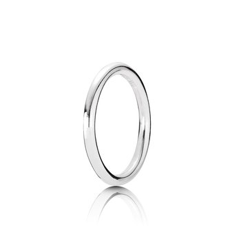 Quietly Spoken Silver Ring