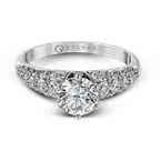 Zeghani ZR983 ENGAGEMENT RING