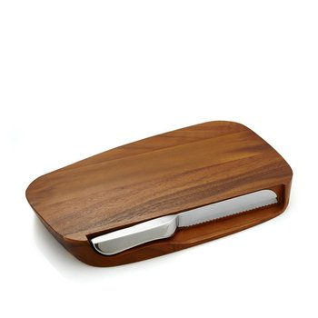Bread Board With Knife