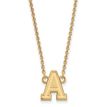 Gold-Plated Sterling Silver U.S. Military Academy NCAA Necklace