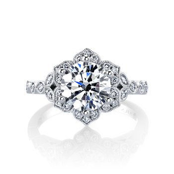 MARS 27188 Diamond Engagement Ring, 0.27 ctw